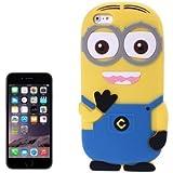 Go Crazzy Despicable Me Minion Back Case For Apple iPhone 6 (Multi)