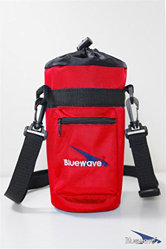 Bluewave 1.5 Liter Insulated Water Bottle Carrying Holder Case - Red Gen3: (Red Meat Case)