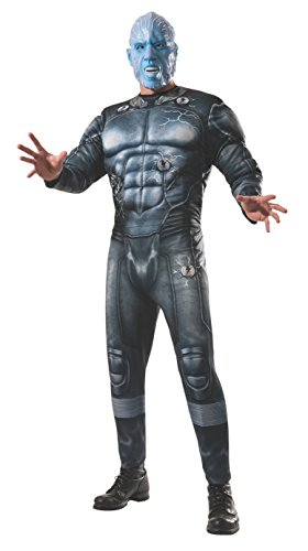 Rubie's Costume Men's Marvel Universe, The Amazing Spider-man 2 Deluxe Electro Costume, Multicolor, One Size