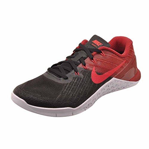 Scarpe da allenamento Nike Metcon 3 da uomo Nero / Rosso sirena / Rosso squadra / Bianco Taglia 13 M US