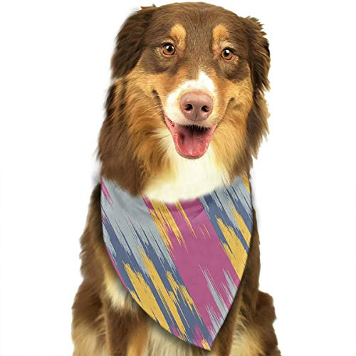 ANYWN Pet Dog Bandanas Mashup Triangle Bibs Scarfs Accessories for Puppies Cats Pets Animals Large Size -