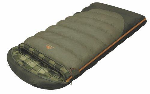 Alexika Siberia Wide Plus Schlafsack – warm, geräumig, rechteckig, 3 Saison Deckenschlafsack für Erwachsene und Familien…