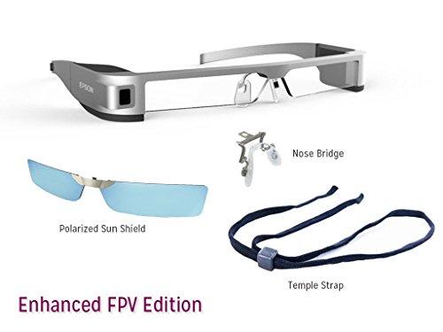 Epson Moverio BT-300 AR Smart Glasses (Enhanced FPV Edition)
