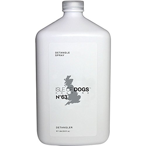 Isle of Dogs Coature No. 63 Detangle Dog Conditioning Mist for Matted Hair, 1 Liter (Dog Mist)