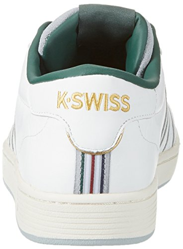 K-Swiss Hoke P, Zapatillas para Hombre Blanco (Classic White/forest/highrise)