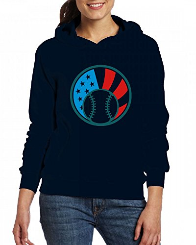 Green American Womens Flag Baseball Custom Qingdaodeyangguo Sweartshirts Fleece Hoodie qBgwnR