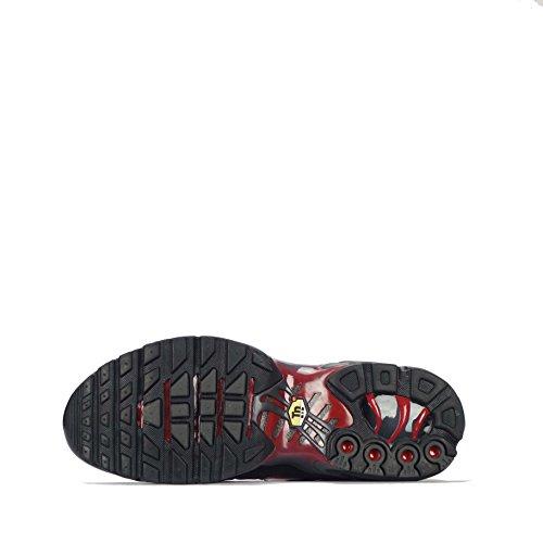 Nike Air Max Plus Scarpe Da Ginnastica Da Uomo 852630 Scarpe Da Ginnastica Nere Bianco Grigio Scuro 002