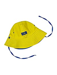 UV SKINZ UPF50+ Baby Boy Reversible Sun Hat-Royal/Yellow-12/18m ...
