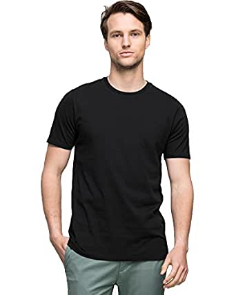 Wayver Soft Wash Crew Tee,Black,S