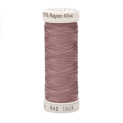 (Sulky Of America 268d 40wt 2-Ply Rayon Thread, 250 yd, Iced Mauve )