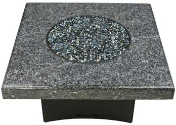 Oriflamme Gas Fire Table Propane 75 000 Btu Heat Output Round Square Octagon Blue Pearl Granite 40 X 40 Square Amazon Ca Patio Lawn Garden