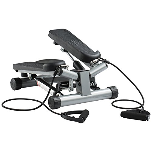 Ultrasport Swing Stepper inklusive Trainingsbändern / Hometrainer Stepper...