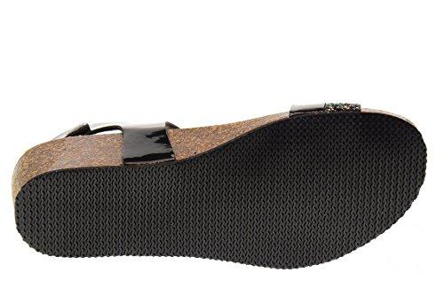 Noir Sandales Black Chaussures GoldStar Femme 1394Z FqZwIwEx7