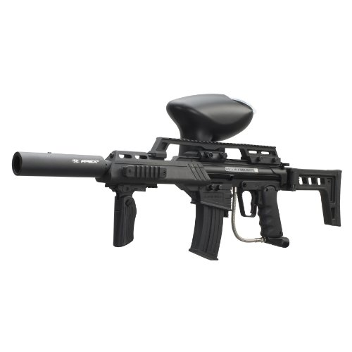 Empire Paintball Slice G36 Elite Paintball Marker, Black by Empire Paintball