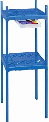 Its Academic Adjustable Double Locker Shelf- Blue ()