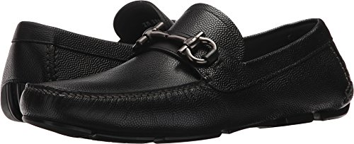 Salvatore Ferragamo Men's Parigi Driving Loafer Black 47 D EU