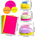 3 Pieces Circle Punch 2 Inch 1 Inch 5/8 Inch Paper