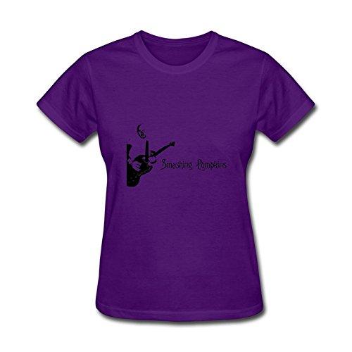 Women's YZ Alternative Rock Band The Smashing Pumpkins Tour T Shirt For Men White Short Sleeve - Band Florida Remix South