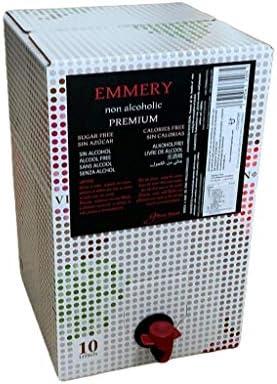 Vino sin alcohol tinto Bag in Box 10 litros