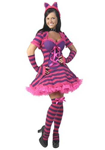 Fun Costumes Womens Plus Size Sexy Wonderland Cat Costume (Female Cat Costumes)