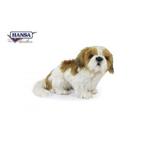 Hansa Shih Tzu Plush Dog - Shih Tzu Toy