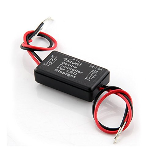Goldwing Series - CARCHET Flash Strobe Controller Flasher Module for LED Brake Tail Stop Light