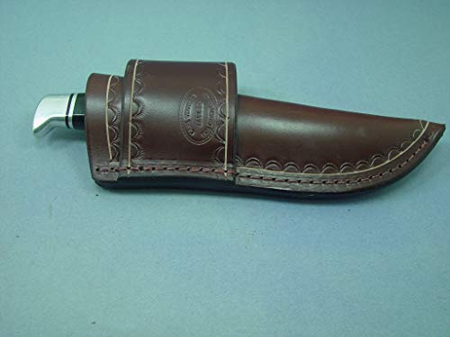 Custom Cross Draw Knife Sheath for the Buck 105 KnifeThe BK 17 and the Sog seal pup knives.. The Sheath Is Made Out of 10 Ounce Water Buffalo Leather with -