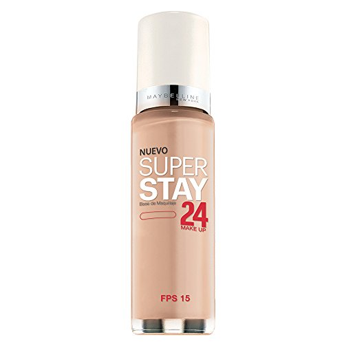 Maybelline New York Super Stay 24Hr Makeup, Natural Beige, 1 Fluid Ounce
