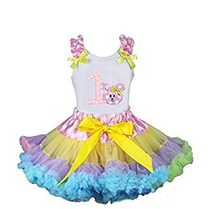 Easter Bunny Colorful Tutu Set for Girls