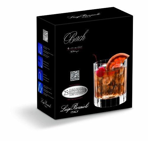 Luigi Bormioli Bach Martini Glasses, 8.75 oz, Set of 4 by Luigi Bormioli (Image #2)
