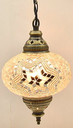 Choose From 5 Designs Turkish Moroccan Mosaic Glass