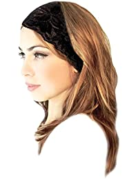 Stunning Stretch Wide Floral Lace Head-Bands in Many Beautiful Colors Handmade