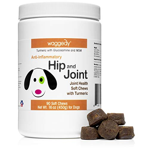 Advanced Hip, Joint and Cartilage Supplement for Dogs – All Natural  Turmeric Curcumin Glucosamine MSM Soft Chews for Dogs/Anti-Inflammatory