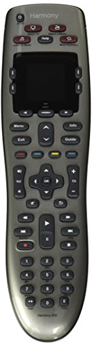 Logitech Harmony 650 Remote Control - Silver (915-000159) (Certified Refurbished) (Blu Ray Vcr Combo Player)