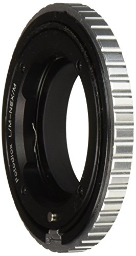 Fotodiox Pro Lens Mount Adapter - Leica M Rangefinder Lens to Sony Alpha E-Mount Mirrorless Camera Body with Macro Focusing Helicoid