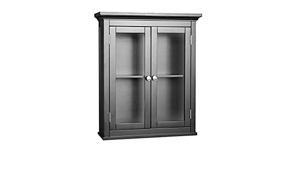 Amazon.com: Madison Avenue Wall Cabinet with 2 Doors: Kitchen & Dining
