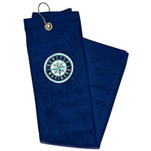 Seattle Mariners Embroidered Tri-Fold Golf Towel ()