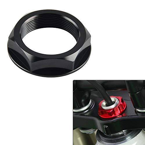 FidgetKute Steering Stem Top Yoke Nut Bolt Fits CR125R CR250R CRF250R/X CRF450R/X/RX