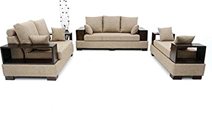 1440647a0d Image Unavailable. Image not available for. Colour: Funterior 6 Seater Classy  Sofa Set ...