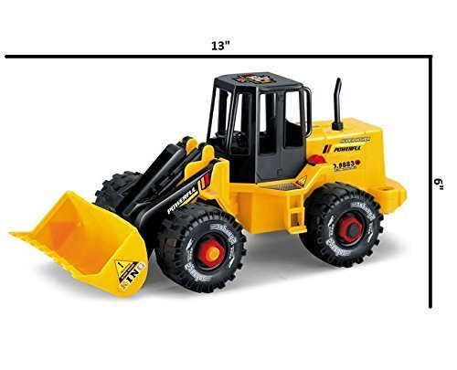 Construction Truck Vehicle - take Apart and Rebuild - Tools Included - Building Blocks (Front Loader)