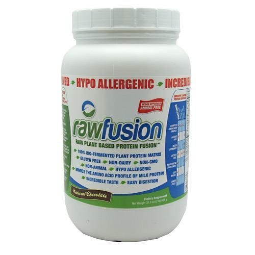 SAN Nutrition Raw Fusion Natural Chocolate 30 Servings by...