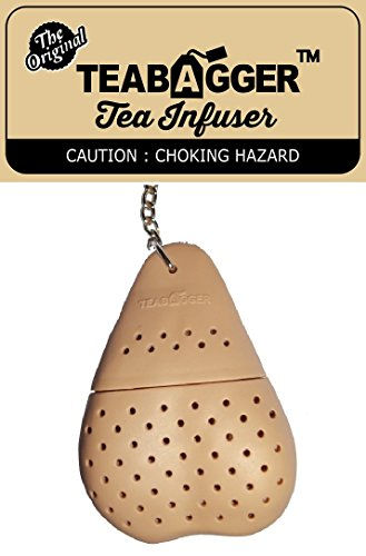 The TeaBagger Tea Infuser Funny Gag Gift Novelty Gifts For Men and Women Stocking Stuffers by The Teabagger