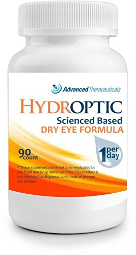 HYDROPTIC Dry Eye Formula (One-Per-Day) 90 Day Supply + FREE SHIPPING