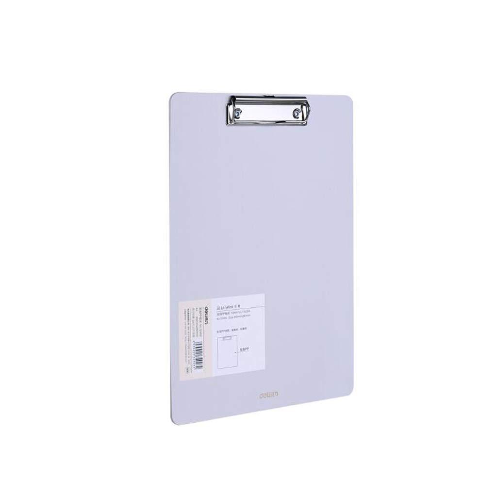 XUANLAN A4 Dicke Zwischenablage, einfache Harte Ordner kann aufgehängt Werden, Kunststoffplatte Clip Büromaterial Board Clip (Farbe   Blau, Größe   5 Pack) B07MSH16HF | Günstige Bestellung
