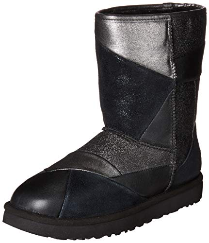 UGG Women's W Classic Glitter Patchwork Fashion Boot,