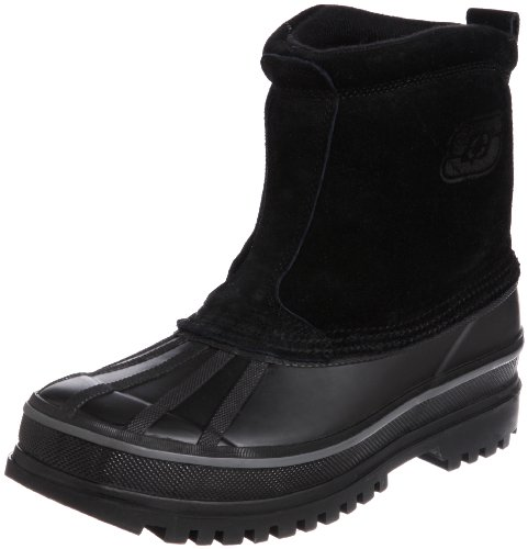 Skechers USA Men's Revine Ankle Boot - Black - 11 D(M) US