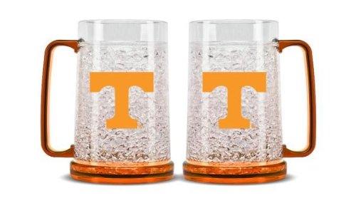 Ncaa Crystal Mug - Duck House NCAA Tennessee Volunteers 16oz Crystal Freezer Mug