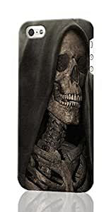 SUUER Grim Reaper Gothic Death Angel iPhone 5 5S Case , Designer Personalized Custom Plastic Hard CASE for iPhone 5 5S Durable New Style Rough Skin 3D Case Cover