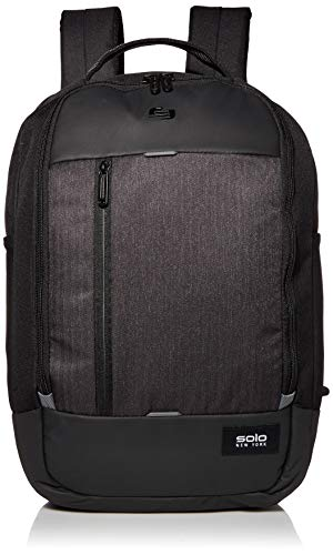 Solo New York Gravity Magnitude Backpack for Women and Men. Fits up to 17.3 inch Laptop-Black