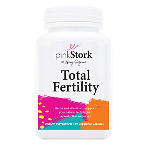 Pink Stork Total Fertility: Natural Fertility Support for Healthy Cycle